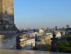 Über den Dächern des Bundestags und Berlin