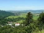 Füssen und der Forggensee: Blick auf Schwangau, Füssen und im Hintergrund der Forggensee