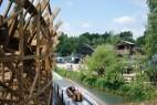 Wildwasser- und Holzachterbahn